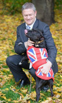 Andrew Rosindell MP supports Save The Staffy