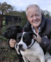 Keith Chegwin Supports Save The Staffy